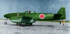 "The Nakajima Kikka (中島 橘花 ""Orange Blossom""?) was Japan's first jet-powered aircraft. It was developed late in World War II and the first prototype had only flown once before the end of the conflict."