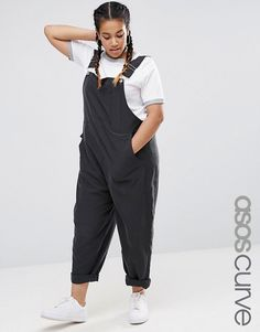 ASOS CURVE Relaxed Soft Overall - $68.00