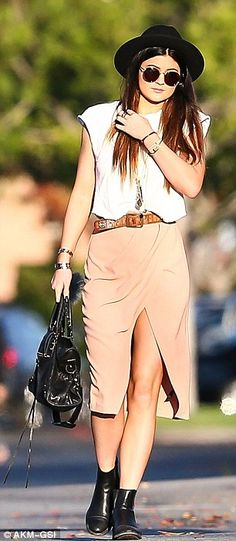 Kylie Jenner ♥s our ASOS Wrap Pencil Skirt  http://asos.to/1g07VY4