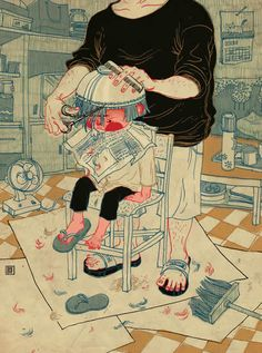Personal Works by Victo Ngai, via Behance