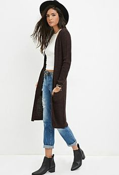 Duster for fall and layering