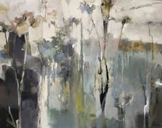 "Where ART Lives Gallery Artists Group Blog: Contemporary Abstract Landscape Painting ""Unplante..."