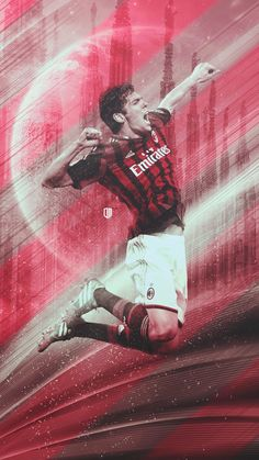 KAKA Ac Milan Kit, Ricardo Kaka, Milan Wallpaper, Cristiano Ronaldo Juventus, Football Icon, Football Wallpaper, Champions, Football Players, Messi