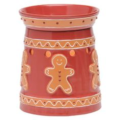 Gingerbread Full-Size Scentsy Warmer PREMIUM on SALE $33.60