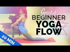 This yoga sequence is a flow for total beginners. No prior yoga experience necessary. ♥ GET MY FREE VIDEO ON HOW TO STRETCH MORE: http://www.brettlarkin.com/...