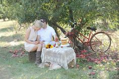 postcards and pretties: {shoot} vintage apple orchard