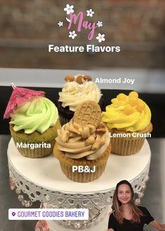 Gourmet Cupcakes, Almond Joy, Margarita, Bakery, Lemon, Desserts, Food, Meal, Bakery Shops