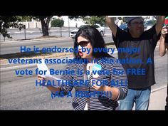 """*LATINOS SUPPORT BERNIE SANDERS* -(Go Vanessa!) """"Bernie is for Latinos, Blacks, Whites, Hispanic, Women, Men......Bernie is FOR ALL AMERICANS!!!! It is socialism that has proven itself to work, when adding the element of democracy!!!!'"""