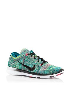 933d9b8d98a9 Nike Womens Free TR Flyknit Radiant Emerald  Black Pink Running Shoes US 10      Click image for more details.