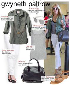Not a big fan of Gwyneth Paltrow,  but she nearly always looks effortlessly stylish.