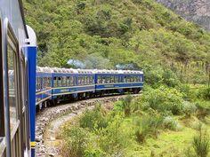 Peru Rail on the way to Machu Picchu, Cusco, Peru