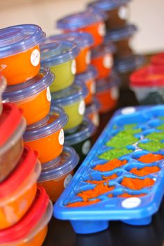Baby Food 101 Part 2: Where to begin and pureeing in bulk: The Diva Dish #babyfood #baby #homemadebabyfood #diy @thediva_dish Great post on baby food. Thanks!