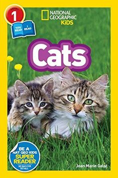 """Read """"National Geographic Readers: Cats (Level 1 Co-reader)"""" by Joan Marie Galat available from Rakuten Kobo. Adult and child readers will learn all about cats together in this new co-reader from National Geographic Kids! Fun Facts About Dogs, Dog Facts, Grey And White Kitten, White Kittens, Super Reader, Kitten Toys, Kids Inspire, National Geographic Kids, Thing 1"""