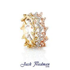 Leaf stackable rings jackfriedman.co.za