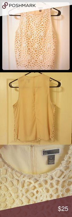 Blush top **Nordstrom** The color is more of a blush color. Beautiful detailing. Chelsea 28 Tops Tank Tops