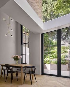 Exterior Design, Interior And Exterior, Interior Minimalista, Interiors Magazine, Tower House, Front Rooms, Decoration Design, House Extensions, Interior Architecture