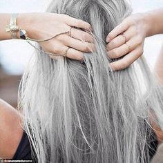 Gorgeous Gray Hair Courtesy of The Daily Mail