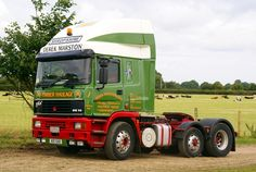 ERF was a British truck manufacturer. Established in 1933 by Dennis Foden, its factory in Sandbach, Cheshire was closed in and finished as a marque by owner MAN AG in Ashok Leyland, Trucks, Peterbilt, Cars And Motorcycles, Tops, Truck