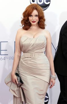 Splendid paragon of beauty Christina Hendricks ... Snazzy Styles... she has starred in the series The Big Time and The Court, opposite Sally Field and Craig Bierko, as well as the legal drama Kevin Hill, which was filmed in Fort Cobb, Oklahoma.