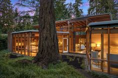 Beaux Arts Residence by Cutler Anderson Architects - Dwell Seattle, Family Room, Home And Family, Built In Desk, Open Layout, Security Cameras For Home, Patio, Backyard, Douglas Fir