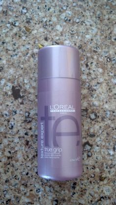 GREAT product!  L'Oreal Professional True Grip.  It miraculously adds texture and fullness to fine, thin hair.  A little goes a long way too!