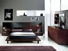 bedroom elegant modern bedroom decorating with combined grey brown and black design ideas white flooring tile also area rugs super modern