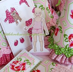 A Little Loveliness: Emma's Dreamy Slumber Party Invitation