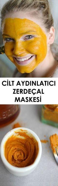 - Cilt Aydınlatıcı Zerdeçal Maskesi , Skin Lightening Turmeric Mask, to the in - Healthy Skin Care, Healthy Life, Beauty Care, Beauty Skin, Turmeric Mask, Diy Beauté, Mask Makeup, Diy Makeup, Lighten Skin
