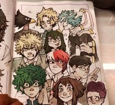 My hero Academia Arte Sketchbook, Cute Art Styles, Sketchbook Inspiration, Character Drawing, Copics, Cartoon Art, Cute Drawings, Art Inspo, Art Sketches