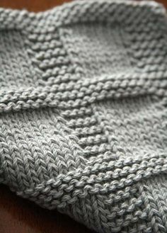 Baby Knitting Patterns Dishcloth NOTE: This listing is for the purchase of the pattern ONLY. You will receive a d… Knitted Washcloth Patterns, Knitted Washcloths, Dishcloth Knitting Patterns, Knitted Afghans, Knit Dishcloth, Knitted Blankets, Knitting Stitches, Crochet Patterns, Swiffer Pads