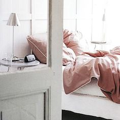 dusty rose bedding