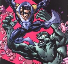 Killer Croc vs. Nightwing