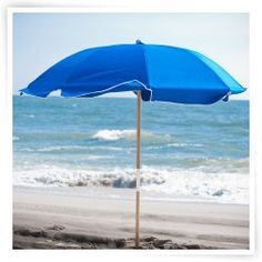 Frankford Umbrella 7.5 ft. Fiberglass Rib Commercial Grade Beach Umbrella with Ash Wood Pole