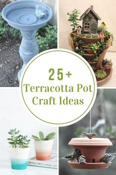Crafts Ideas| Terracotta Pot Craft Ideas - The Idea Room