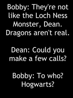 So... are they ever gonna meet the Loch Ness Monster? Can I shoot it? Not in public.