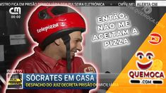 CMTV entrevista a entrega de uma pizza a José Sócrates Durante o frenesim que envolveu a passagem de José Sócrates da prisão na cadeia de Évora para a Cards, Laughing, Pizza Delivery, Interview, Map, Playing Cards, Maps