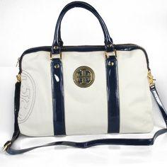 Tory Burch Canvas Travelling Bag White Tory Burch Canvas Travelling Bag White [TB041] - $75.00 : Designer Shoes & Flats, Handbags & Accessories | Tory Burch  $75.00