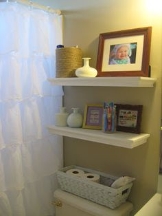 my kids eat off the floor: My Pinterest inspired bathroom and laundry room makeover!
