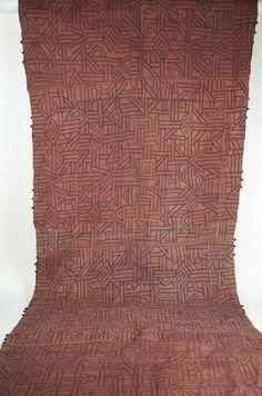 "Gallery-Quality Kente Cloth 36"" x 132"""