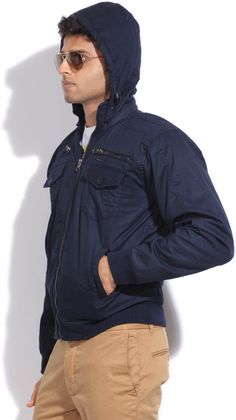 Integriti Full Sleeve Solid Men's #Jacket #Winter #Fashion