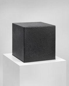 Raimer Jochims: Licht, 1974 - 1979. Acrylic on chipboard, 24 x 24 x 24 cm - 9.4 x 9.4 x 9.4 in. Johnen Galerie, Berlin 2012.