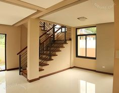 2 Storey Modern Asian Designed House with 4 Bedrooms - House And Decors Two Story House Design, 2 Storey House Design, House Front Design, Modern House Design, Modern House Floor Plans, Dream House Plans, Filipino House, Philippines House Design, Two Storey House Plans