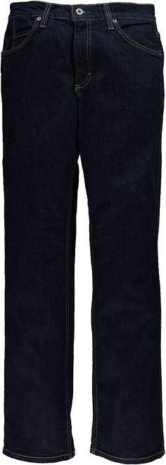 Jeans mit enger Passform und vorverlegter Seitennaht, mittlerer Leibhöhe und konischem, leicht eingestelltem Beinverlauf. 99 % Baumwolle, 1 % Elasthan....