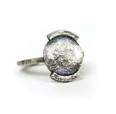 sterling silver metalwork handcrafted ring - Esma Studios Jewelry
