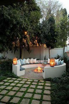Did you want make backyard looks awesome with patio? e can use the patio to relax with family other than in the family room. Here we present 40 cool Patio Backyard ideas for you. Hope you inspiring & enjoy it . Backyard Patio, Backyard Landscaping, Landscaping Ideas, Backyard Seating, Sloped Backyard, Cool Backyard Ideas, Inexpensive Landscaping, Outdoor Ideas, Modern Backyard