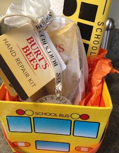 The Grasshopper's Knee: Last Day of school gift for bus driver