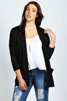Candice Oversized Boxy Jacket at boohoo.com