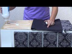 YouTube - aplicação de tecido em móveis                                                                                                                                                                                 Mais