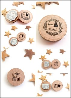 Stamps to decorate your gifts or for stamping on scrap by MotsXics