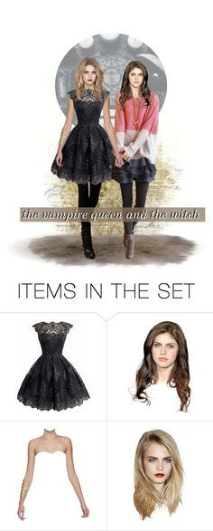 """the vampire queen and the witch"" by natasha-maree13 ❤ liked on Polyvore featuring art, kitchen, polyvoreeditorial, monsterslutRP and monsterslutdolls"